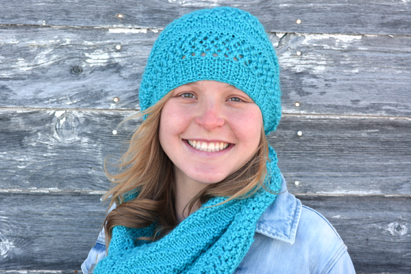 Dream Slouch Hat And Infinity Scarf Knitting Patterns Knotenufknitting