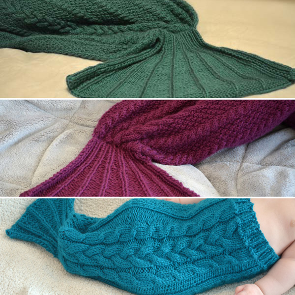 Little Mermaid Tails Knitting Patterns Knotenufknitting