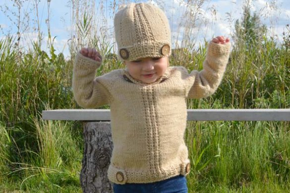 Off to Discover Knitted Sweater Pattern