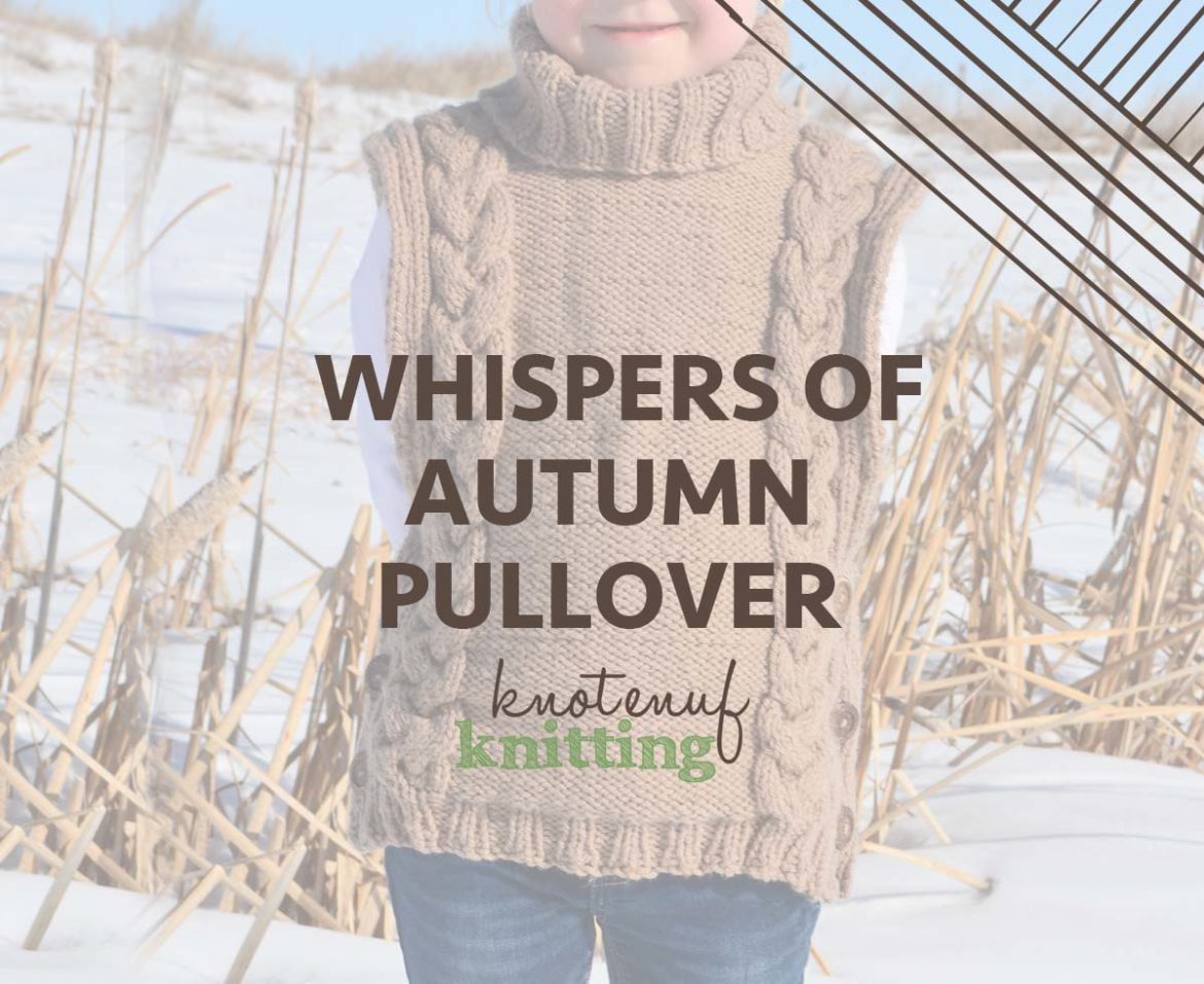 whispers of autumn pullover