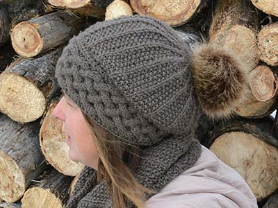 Song of Peace Hat knitting pattern