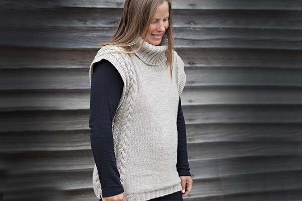 Adult knitting pattern sweater agree